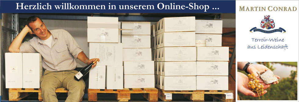 Onlineshop Weingut Martin Conrad